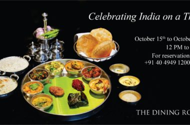 Celebrating India on a Thali at Park Hyatt Hyderabad