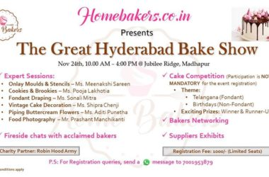 The Great Hyderabad Bake Show