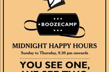 Midnight Happy Hours at SodaBottleOpenerWala Hyderabad