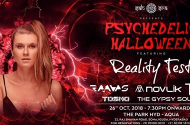 Psychedelic Halloween Party at Aqua- The Park Hyderabad