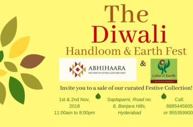 The Diwali Handloom and Earth Fest in Hyderabad