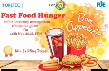 Fast Food Hunger - Food Event in New Delhi