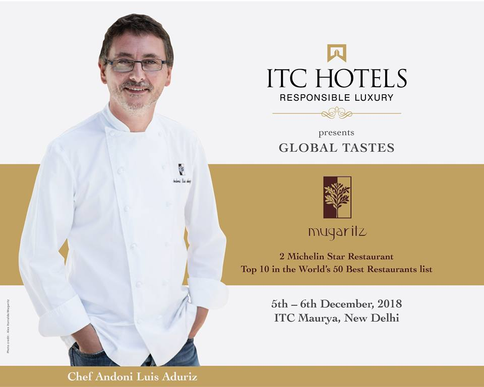 Global Tastes at ITC Maurya New Delhi