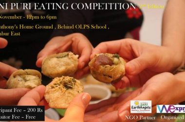Pani Puri Eating Competition - Chembur East Mumbai