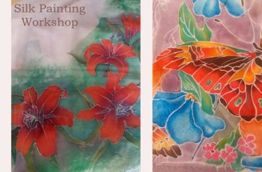 Silk-Painting-Workshop-in-Bangalore