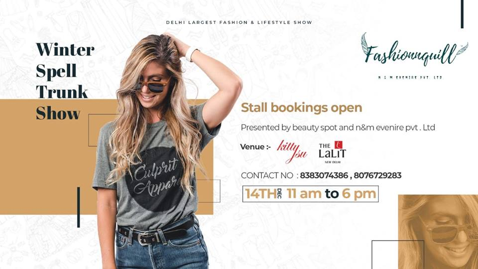 Winter Spell Trunk Show at The Lalit Hotel New Delhi
