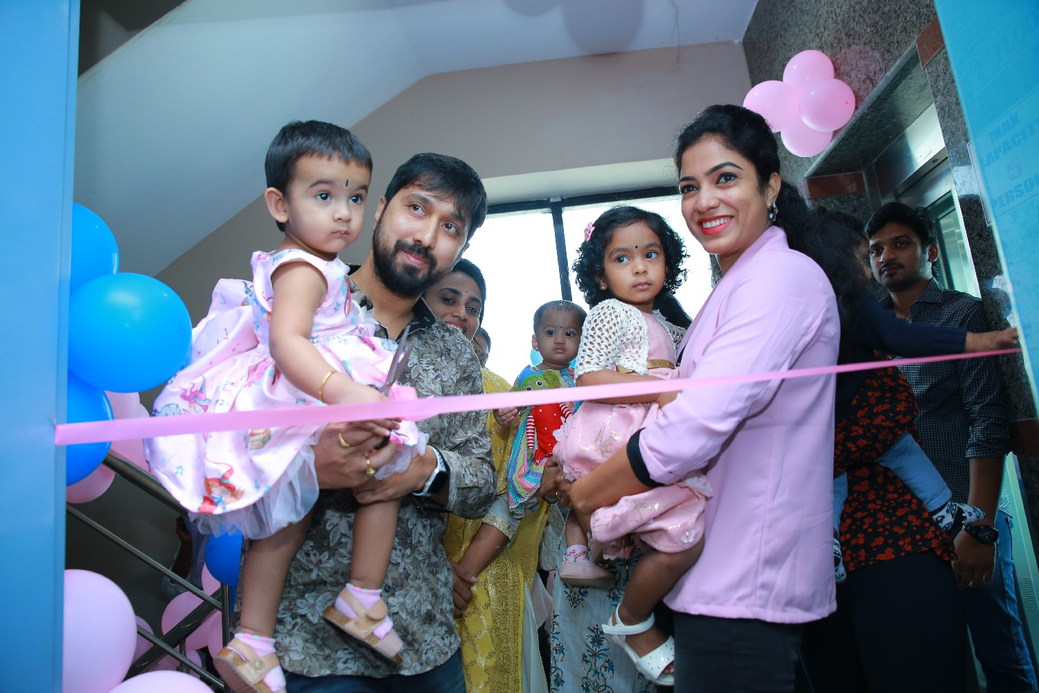 Director Bobby launches - The Baby Photographer Hyderabad