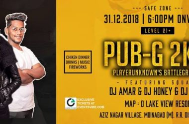 PUB-G-2K19-New-Year-Event-D-Lake-View-Resorts-Hyderabad
