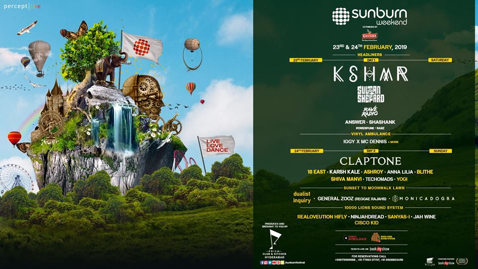 Sunburn Weekend with KSHMR in Hyderabad - Latest Exhibitions