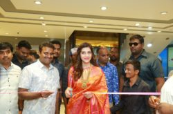 Actress Mehreen Prizada inaugurates new segment in CMR Shopping Mall