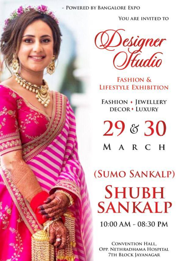 Designer Studio Fashion And Lifestyle Exhibition In Bangalore Latest Exhibitions Food Events Mosthappenings Com