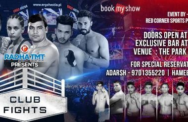 Club Fights - The Inaugural Edition at The Park Hotel Hyderabad