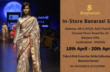Singhania's In-Store Banarasi Sale in Hyderabad