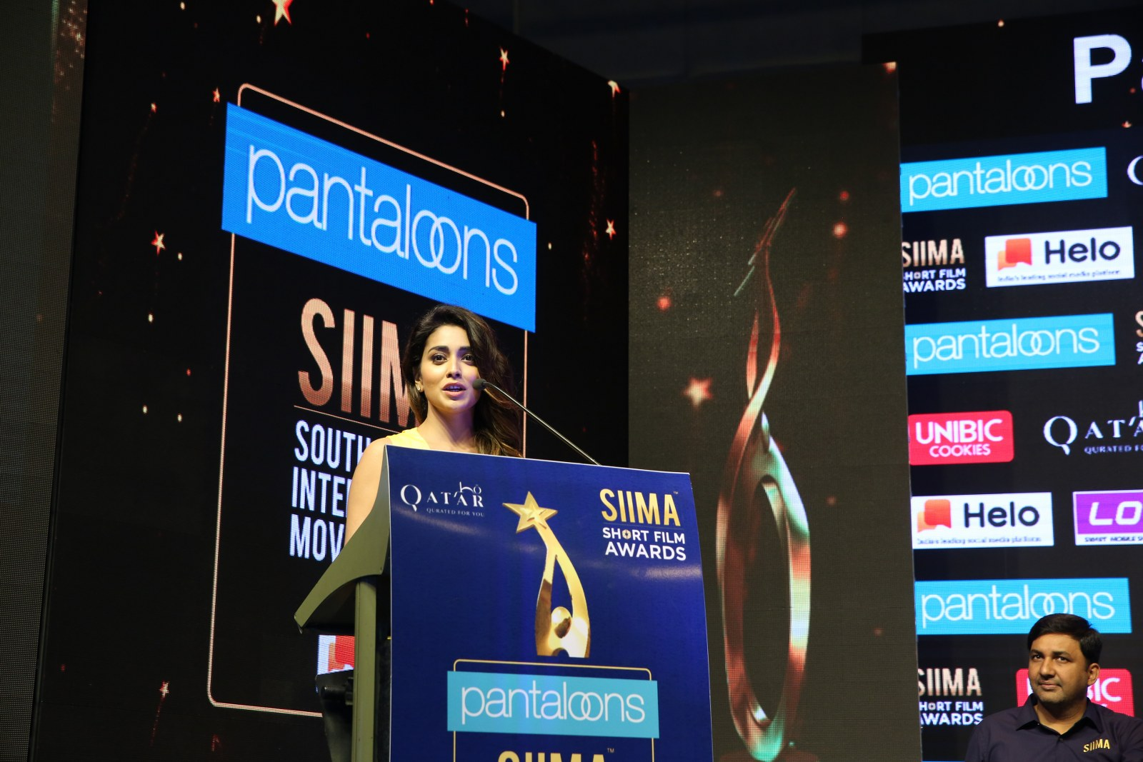 Film Celebrities at SIIMA 2019 Curtain Raiser - Latest